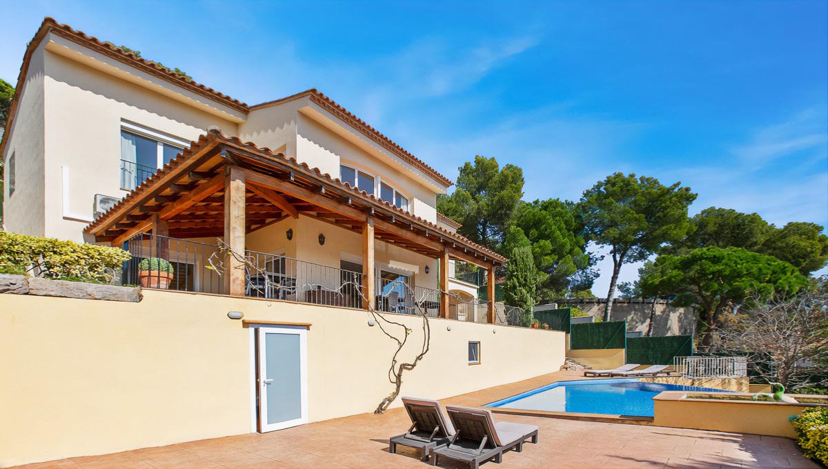 Villa amb mirador, Cala Sant Francesc