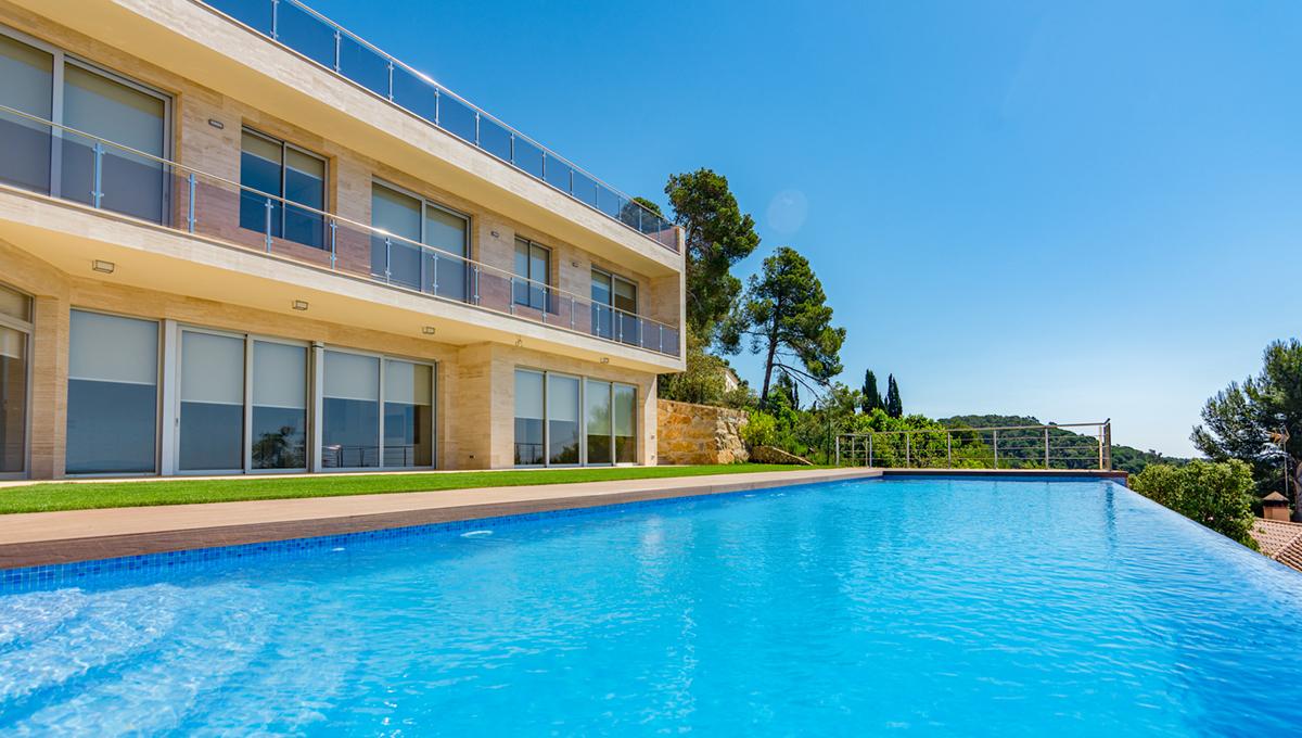 Luxury villa with views panoramic sea in Tossa de mar